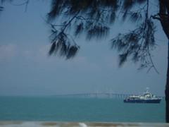 View of Penang Bridge (the explorer) Tags: penang touristspot penangbridge