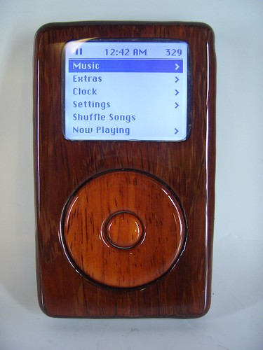 Wooden iPod -Front