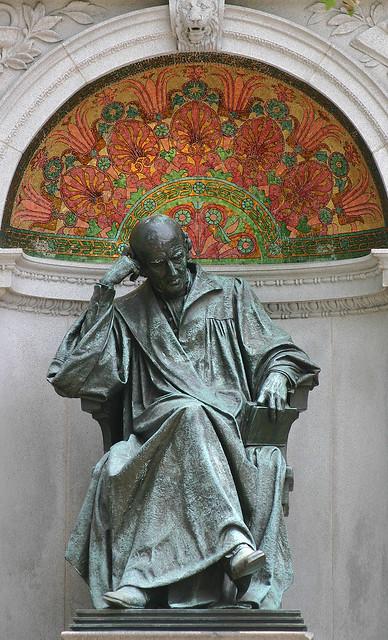 Samuel Hanneman an advocate of homeopathic medicine.