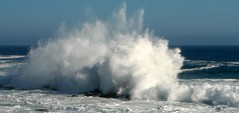 Wave crashing on rock (Ottie) Tags: ocean sea tag3 taggedout tag2 waves tag1 tsitsikamma stormsrivermouth