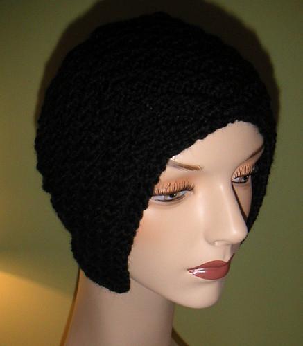 hat knitting knit aviator knitblog actionhero ameliaearhart