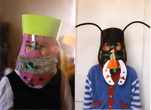 printable bug masks