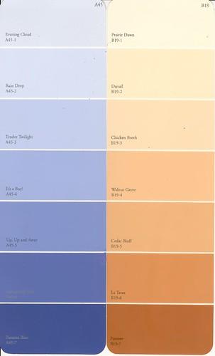 blueroom paint chips