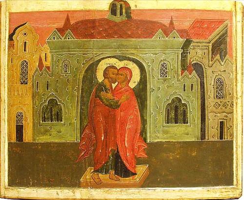 Icone sainte rencontre