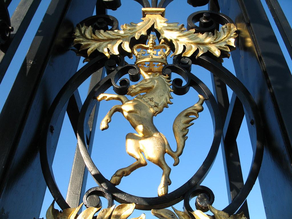 Kensington Palace unicorn
