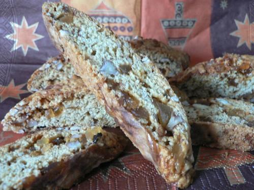 Ginger-Pecan Biscotti
