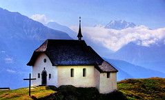 Betton Church HDR.jpg (jodi_tripp) Tags: mountains alps church clouds switzerland bravo europe top20 hdr allrightsreserved redone betton magicdonkey joditripp cy2 challengeyouwinner abigfave wwwjoditrippcom photographybyjodtripp joditrippcom