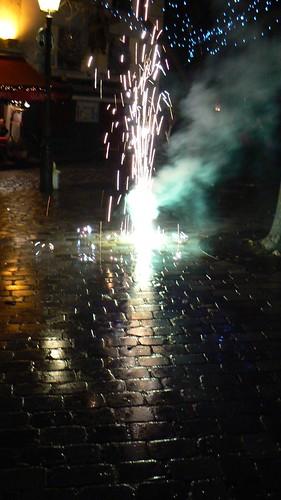 Fireworks in Montmartre
