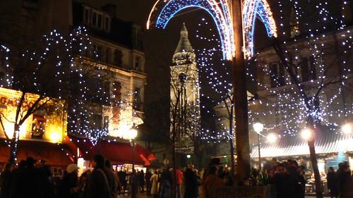 Paris - Place du Tertre, New Year's Eve
