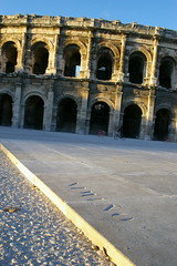 Amphitheater at Nimes (AlphaTangoBravo / Adam Baker) Tags: france arena arenas nimes bullfight ampitheater matador nimeno nimenoii