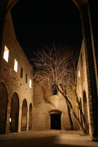 Lo Spasimo, the church without a roof, Palermo