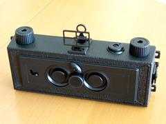 ステレオピンホールカメラ−表