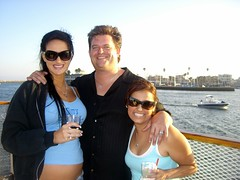 Lynette, Jim, and Amy (FrogMiller) Tags: ocean california ca charity cruise sunset sea party music beach playground drunk fun boat ship married amy group pregnancy drinking jim pregnant socal longbeach alcohol lawyers reggae engaged lynette lawyer boatcruise longbeachca attorney boozecruise lbc statebar attorneys ocbarristers