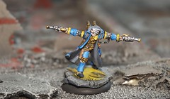 Capt. Allister Caine (Boba.Ferret) Tags: caine warmachine cygnar privateerpress