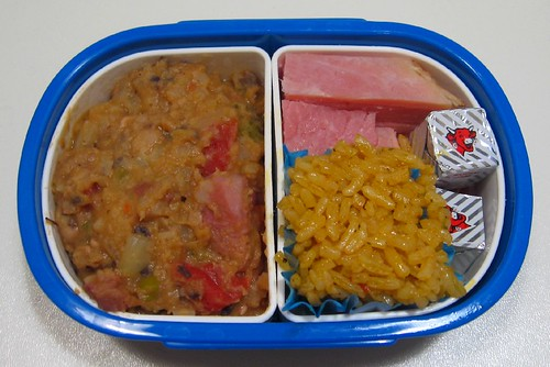 Hoppin' John lunch for toddler