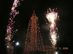 Baltimore monument fireworks5