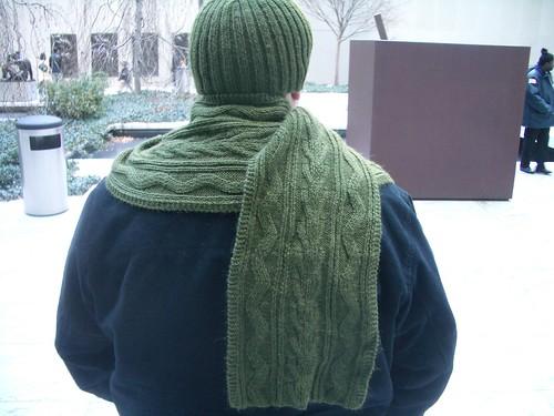 Hat & scarf set