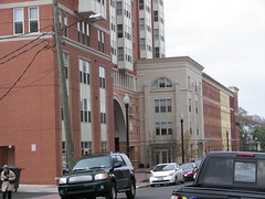 Northern edge, side street, Clarendon