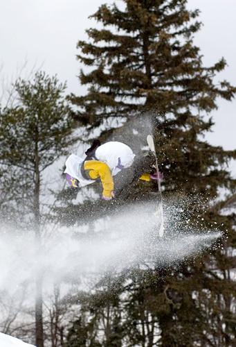 Snowboard Back Flip