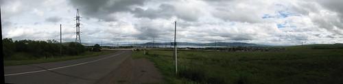Панорама Красноярского вдхр возле Новоселово ©  zhaffsky