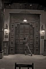 Knocking... (Faith Part II) (Nomad Saleh) Tags: door dubai faith uae emirates nomad arabian jumeira knock knocking heavensdoor madinataljumeira