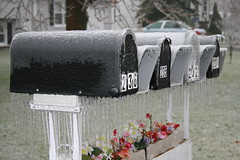Mailboxes, courtesy of mamamusing