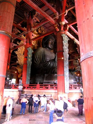 Daibutsu (Big Buddha) - Nara, Japan