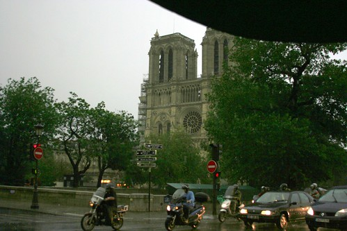 Paris in Rainstorm