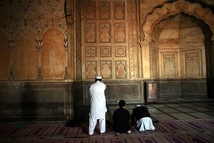 Pakistan muslim praying