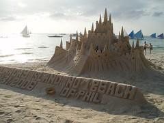 Sand Castle (scuba_dooba) Tags: castle beach sand philippines boracay sandcastle sandsculpture masterswordofgreatness philippineislescom