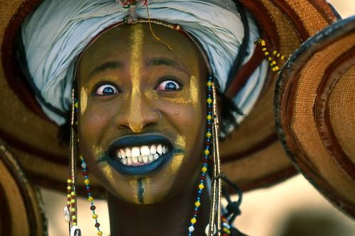 Fulani/Wodaabe Dancer