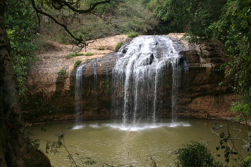 Prenn Waterfall, near Dalat.