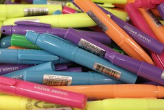 Mini highlighters (by Valerie Everett)