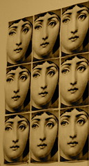 Fornasetti Photocopies (Blackheathens) Tags: face photocopy fornasetti