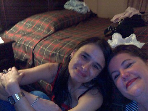 Sandi and I