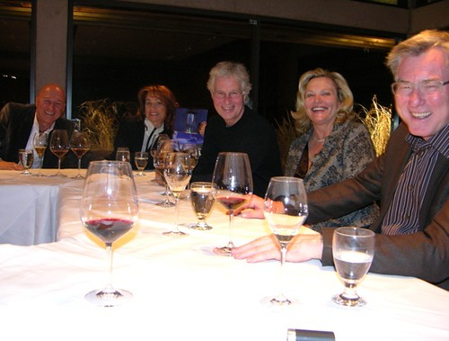 Dinner with Ziraldo & Sprott