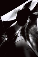 (Luke P. Woods) Tags: seattle bw architecture voigtlander bessa f45 r3a emp frankgehry 15mm 2007 heliar aspherical efke25 110fov bylukepwoods