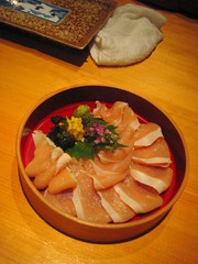 Chicken Sashimi
