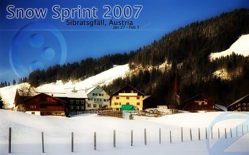 Snowsprint 2007 Desktop Wallpaper