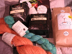 Coffee and Yarn Swap