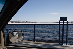 A winter ride on the ferry (TheYoungsOnline) Tags: ferry ottawariver