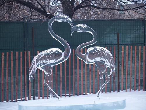 Ајс уметност во Алјаска