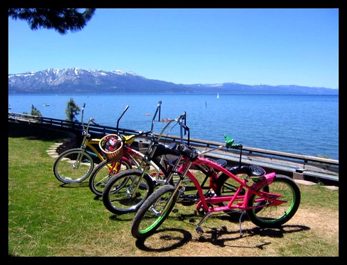 Bikes at the Lake