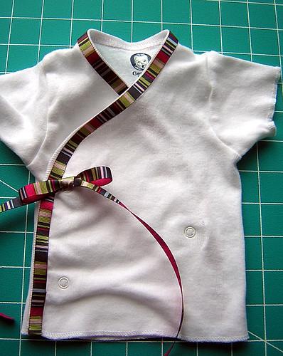 ribbon wrap top