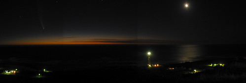 Comet McNaught Panorama