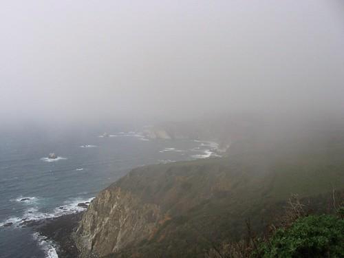 Highway 1 - the fog.