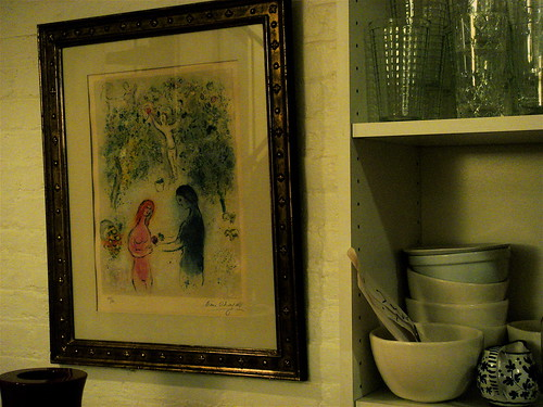 Chagall in the kitchen
