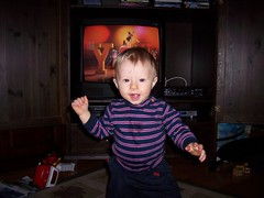 Mom! Do you SEE this? (LizaWasHere) Tags: noah baby funny dancing karencarpenter closetoyou richardcarpenter carpentersfan