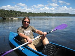 IMG_1805 (pilkster) Tags: lake boat kayak narrabeen