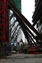 Broadgate Tower buttresses
